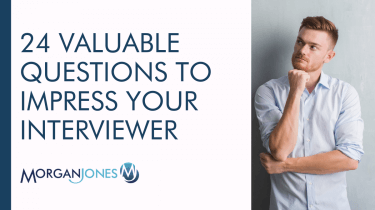 24 Valuable Questions To Impress Your Interviewer Title Image