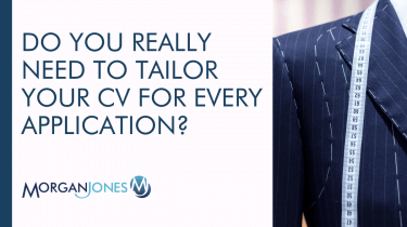 Do you really need to tailor your CV for every application Title Image