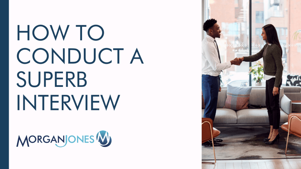 How To Conduct A Superb Interview Title Image