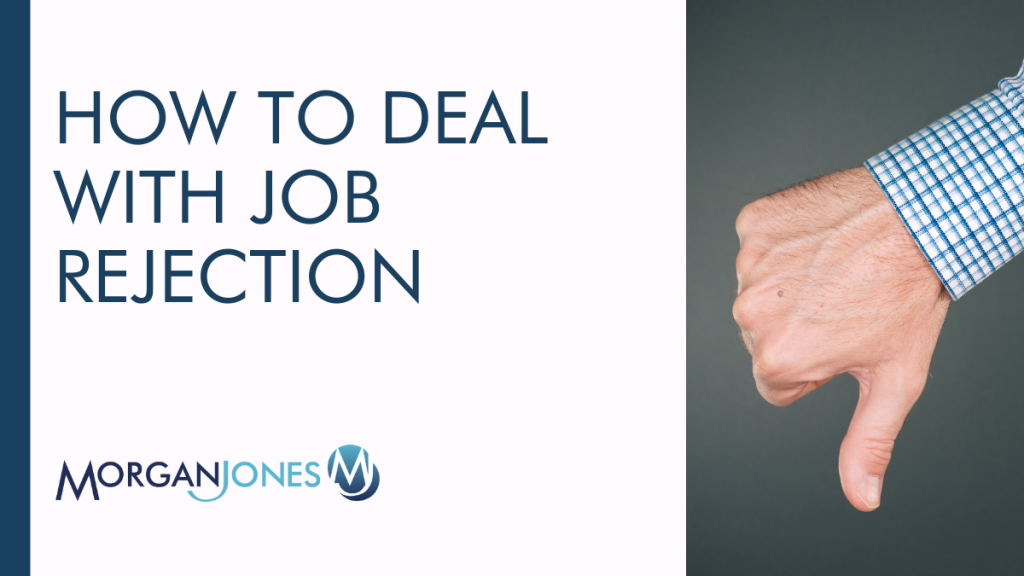 How To Deal With Job Rejection Title Image