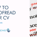 How To Proofread Your CV Title Image