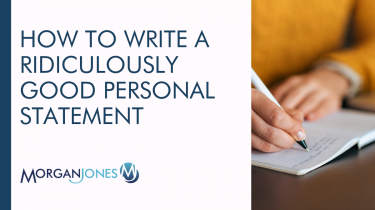 How To Write A Ridiculously Good Personal Statement Title Image