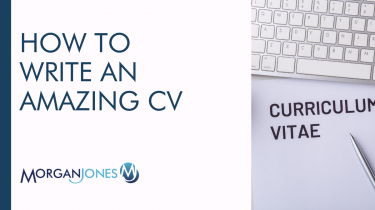 How To Write An Amazing CV Title Image