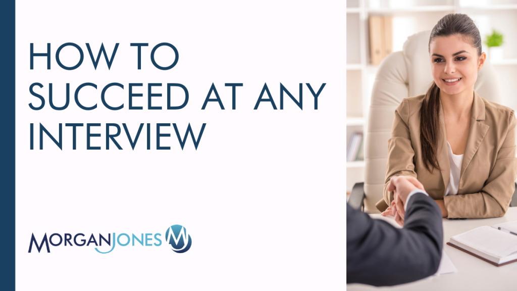 How to Succeed At Any Interview Title Image