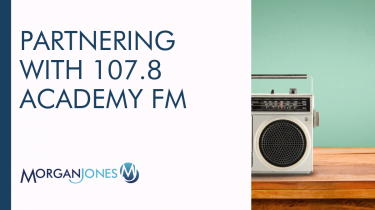 Partnering with 107.8 Academy FM Title Image