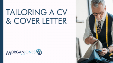 Tailoring A CV & Cover Letter Title Image