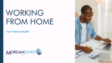 Working From home - Your Mental Health Title Image