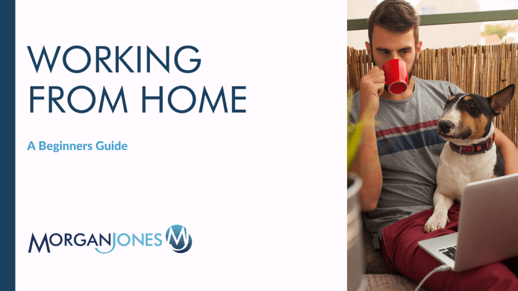 Working from home A Beginners Guide Title Image