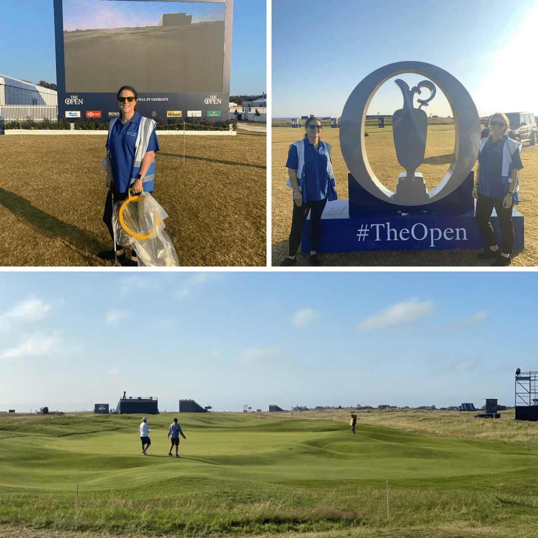 On site at The 149th Open with Spectrum